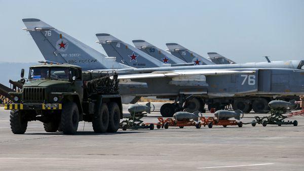 Rusia coopera con ataques aéreos en Siria (AP)