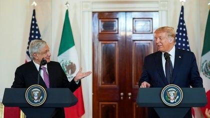 AMLO has been harshly criticized both inside and outside the country for his stance on the US presidential elections (Photo: Kevin Lamarque / Reuters)