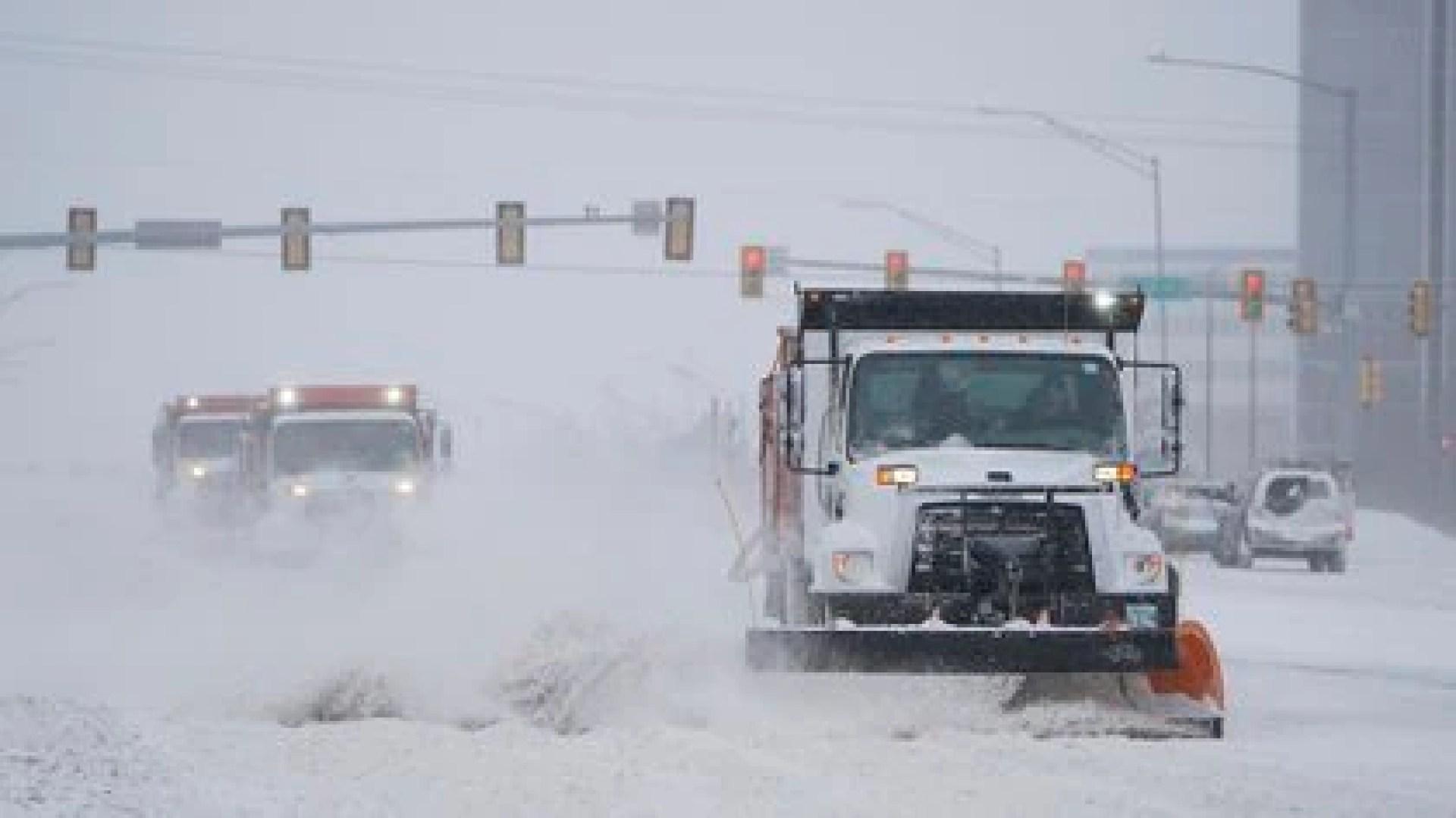 La ola de frío azota a buena parte de EEUU (AP Photo/Sue Ogrocki)