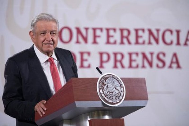 López Obrador raised this request after recalling to the press the case of what he considered to be a failed controlled delivery of weapons by the ATF (Photo: Presidency of Mexico)