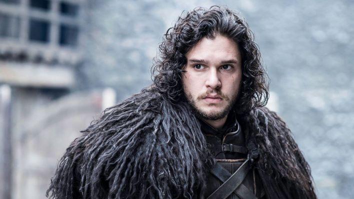 "Kit Harington como Jon Snow en ""Game of Thrones"""