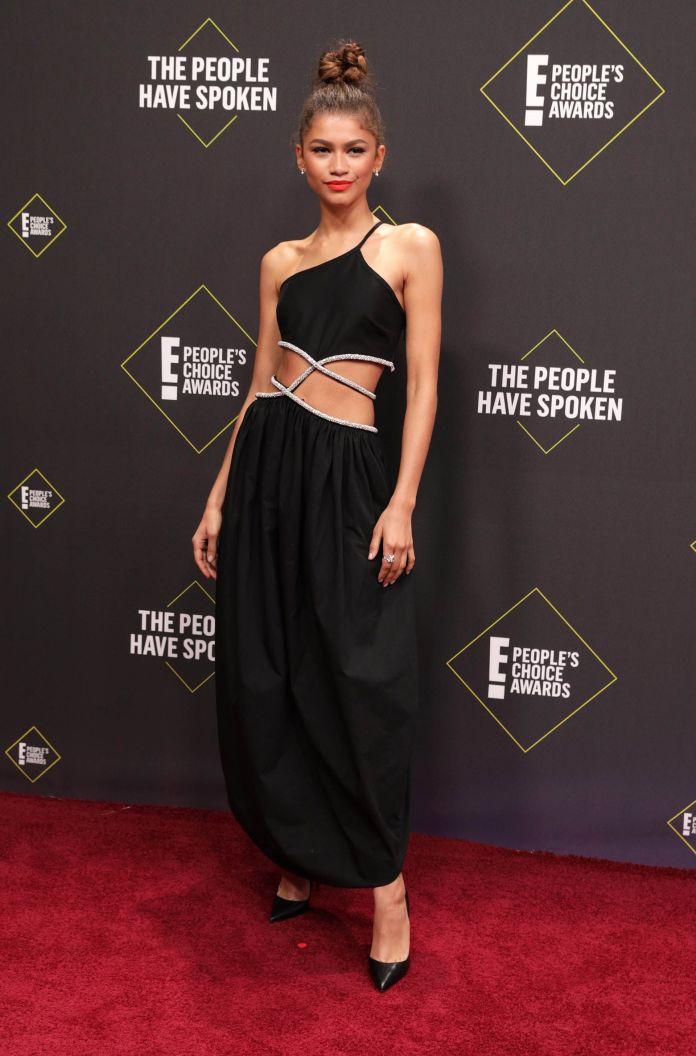 Zendaya le ganó a Jennifer Aniston en los premios People's Choice Awards 2019 (Foto: Monica Almeida/ Reuters)