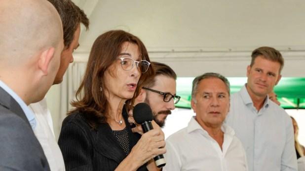 La ministra María Eugenia Bielsa participó de una nueva entrega de viviendas del Procrear en Ituzaingó