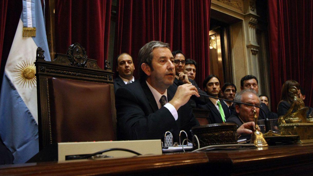 """El sector agropecuario recordó ayer el 11° aniversario del voto """"no positivo"""" de Julio Cobos, que significó la derogación de la Resolución 125 (NA)"""