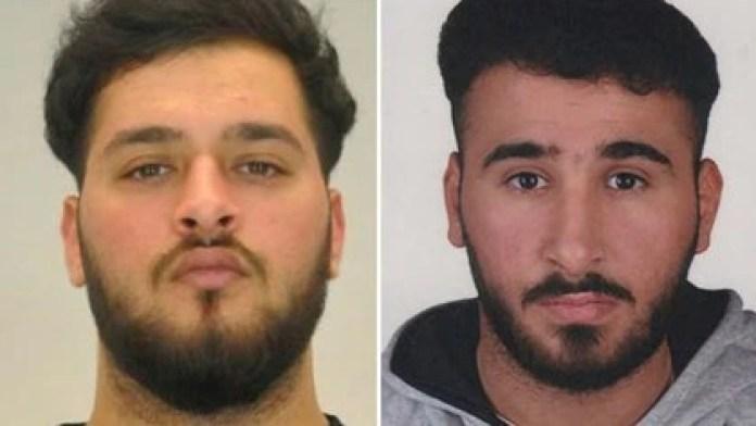 Mohamed Remmo (izquierda) y Abdul Majed Remmo, sospechosos por el robo del museo la Bóveda Verde