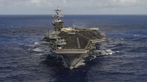 El USS Carl Vinson enviado por Estados Unidos a Corea