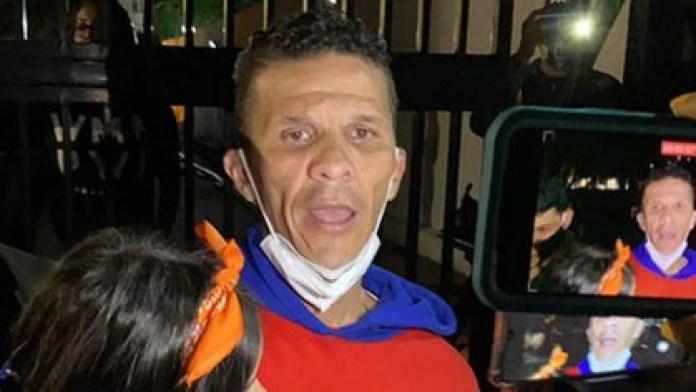 El diputado Gilber Caro liberado tras los indultos