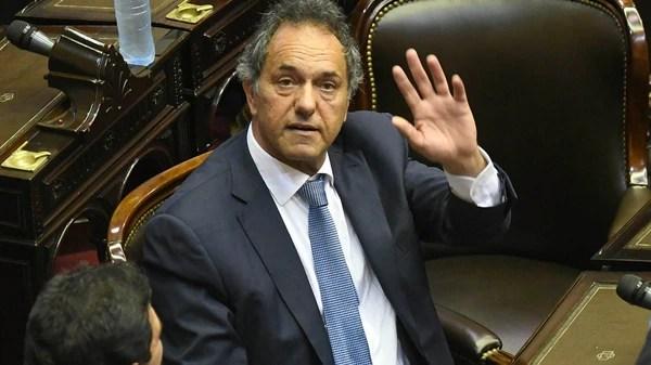Daniel Scioli, uno de los legisladores electos por Unidad Ciudadana