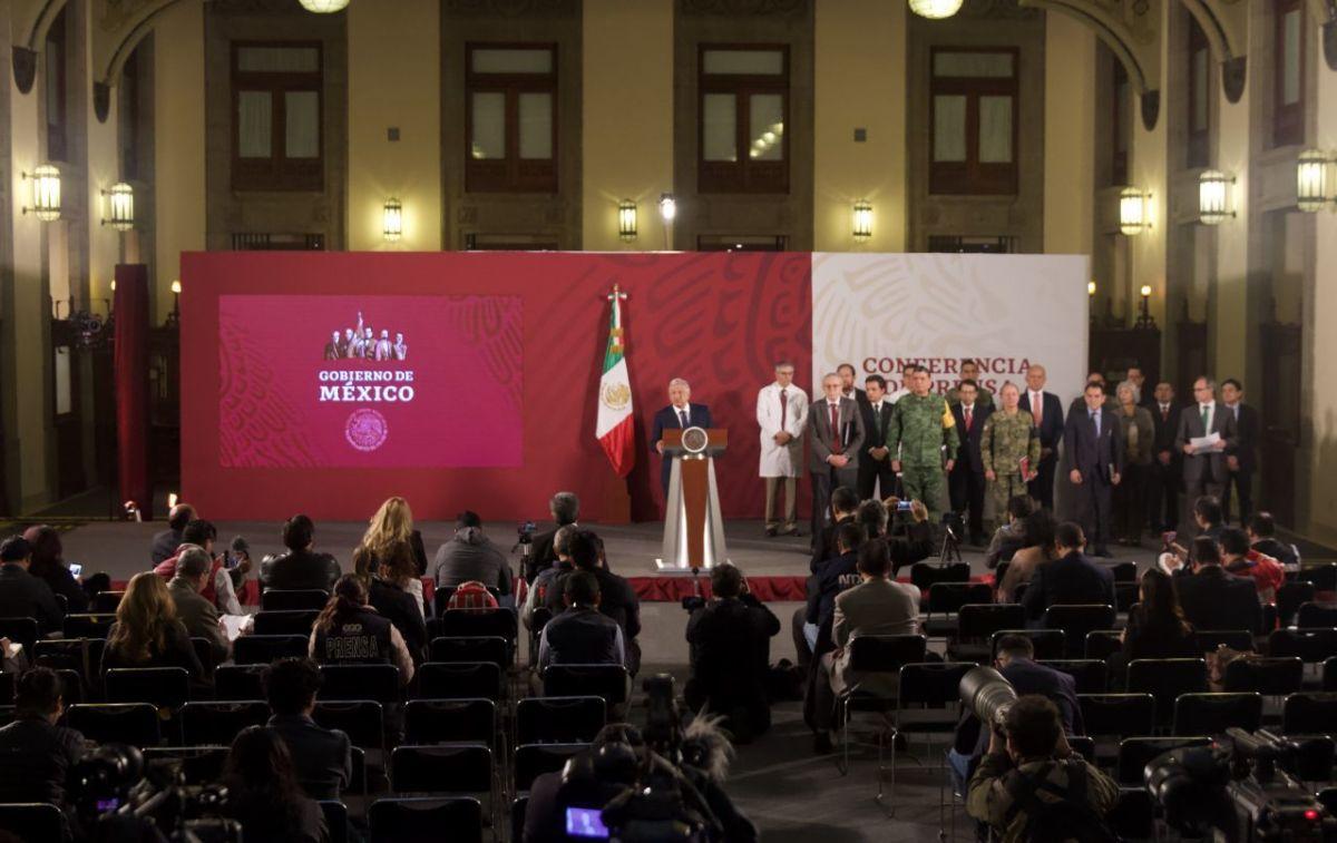AMLO anunció el plan de salud este martes y advirtió que las ayudas irán a los más necesitados (Foto: Andrea Murcia/ Cuartoscuro)