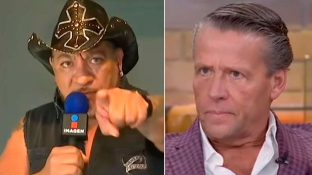 El actor mexicano retó a Carlos Trejo a un duelo a través de televisión (Foto: ImagenTv)
