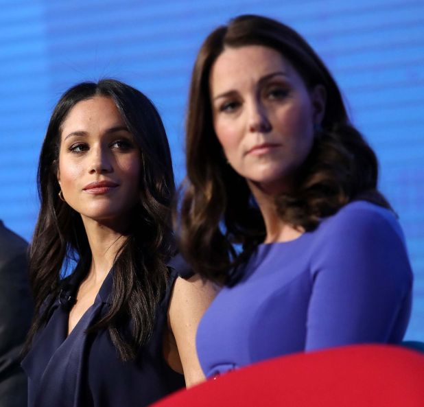 Meghan Makle y Kate Middleton