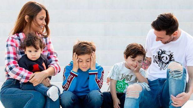 La familia de Lionel Messi disfrutó de un sábado sin partido de fútbol
