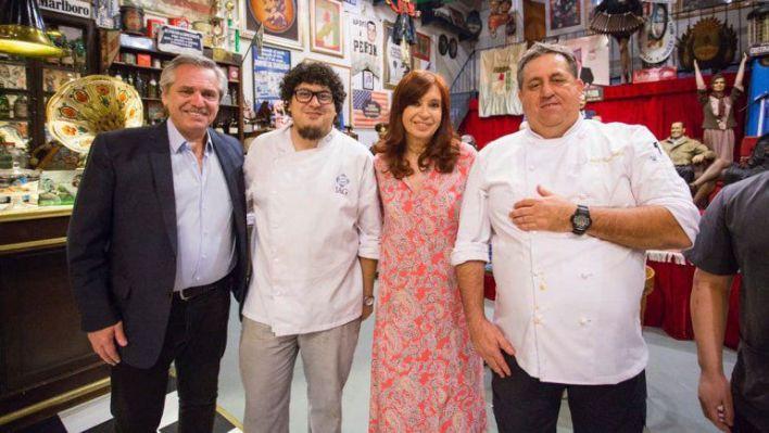Ariel Paoletti con Alberto