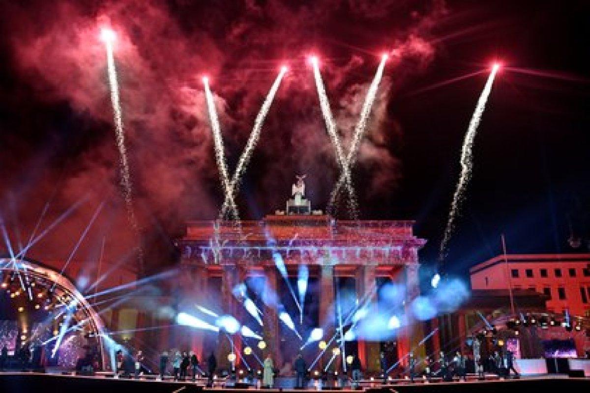La Puerta de Brandenburgo en Berlín (John Macdougall/Pool via REUTERS)