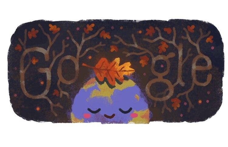 Este es el doodle que se presenta en el hemisferio sur (Foto: Google)