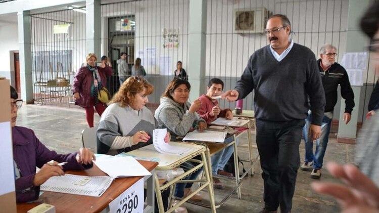 El diputado nacional Sergio Leavy, ganador en la interna del Frente de Todos @ElOsoLeavy