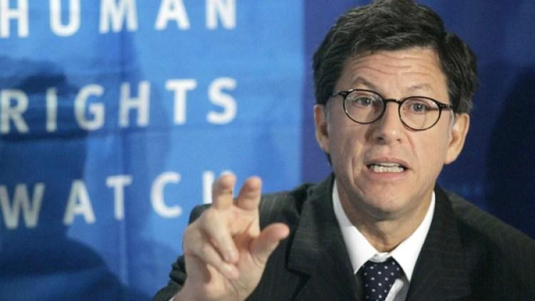 José Miguel Vivanco, director del Departamento de las Américas de Human Rights Watch