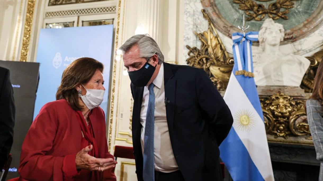 Reforma Judicial Alberto Fernandez Elena Highton de Nolasco
