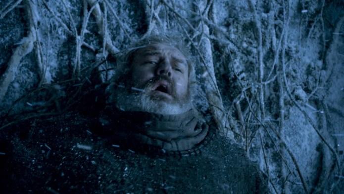 Hodor, sosteniendo la puerta para que Bran pueda huir de los muertos (Foto: HBO)