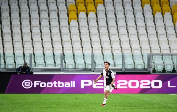 Este domingo, la Juventus le ganó al Inter de Milan un partido sin público (Reuters)