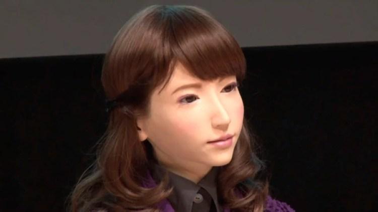 Érica es uno de los robots humanoides que fueron desarrollados por Ishiguro.