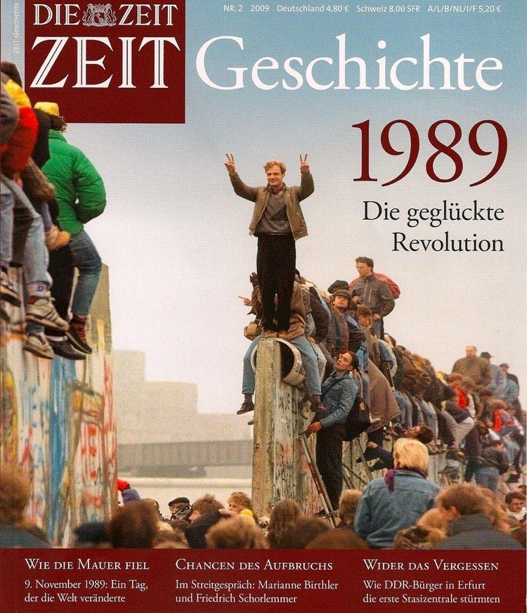 La portada del diario Die Zeit, con la foto de Erik
