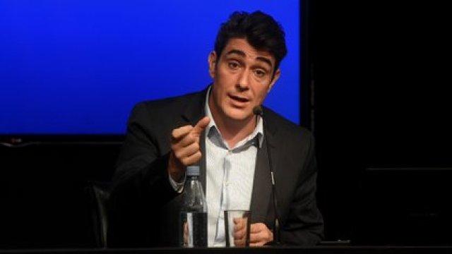 Javier Iguacel iba a ser el primer testigo del reinicio del juicio pero fue postergado (Nicolás Stulberg)