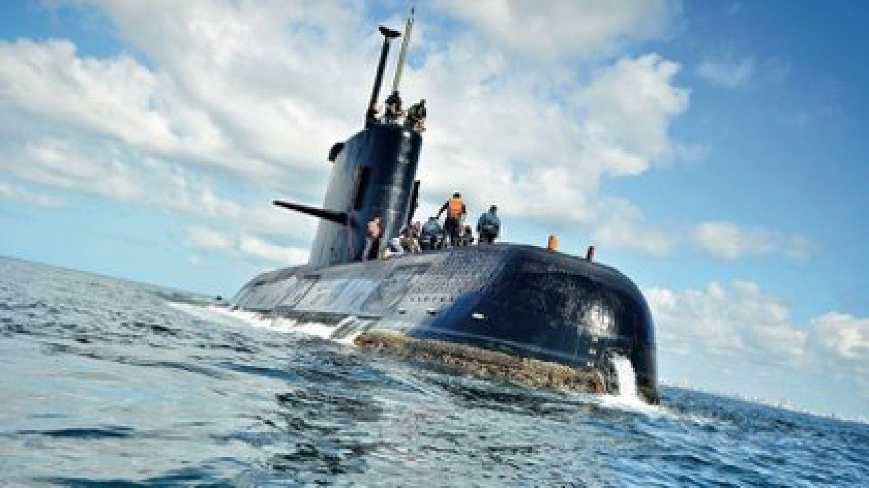 El submarino ARA -San Juan (Foto: Armada Argentina/Juan Sebastián Lobos)
