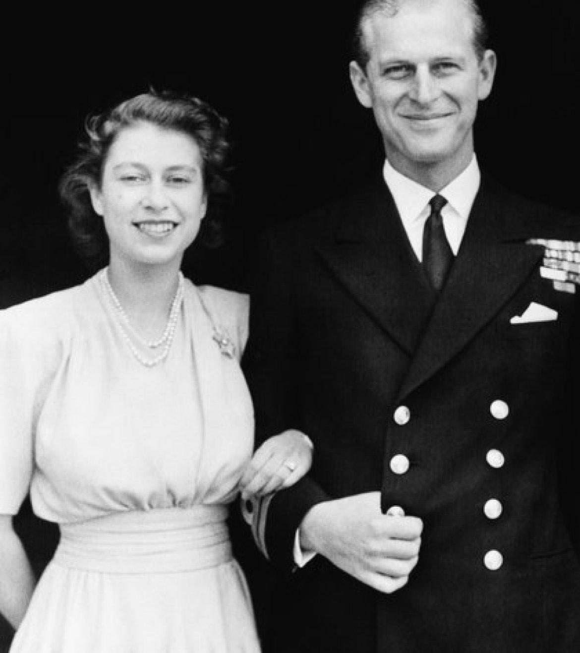 Felipe se casó con Isabel II en 1947 (AP Photo/File)