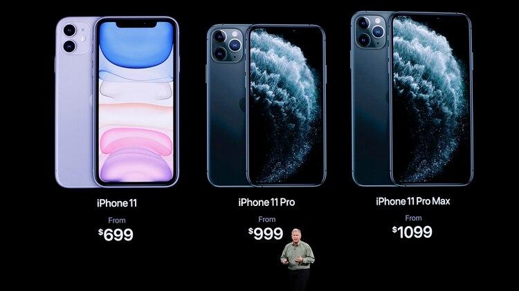 Los precios de los tres modelos de iPhone 11(REUTERS/Stephen Lam)