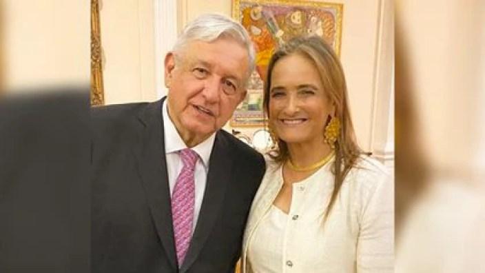 Patricia Armendáriz ha manifestado su apoyo a AMLO (Foto: Twitter / @PatyArmendariz)