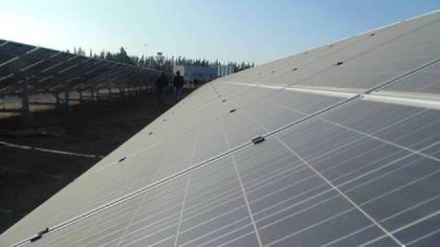 Parque fotovoltaico solar Foto: Archivo
