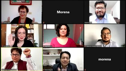 Delgado resaltó que la nueva CNHJ morenista será un factor de unidad en el partido de AMLO (Foto: Cortesía Morena)