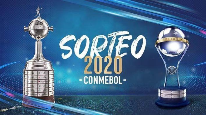 anuncio del sorteo de los octavos de la Copa Libertadores