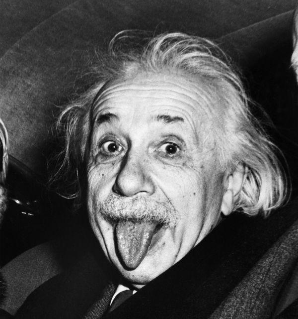 Una de las imágenes más viralizadas de Albert Einstein daba cuenta de su personalidad humorística