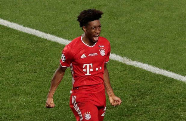 Kingsley Coman surgió del PSG y fue el auto del gol del Bayern Munich en la final (Manu Fernandez/Pool via REUTERS)