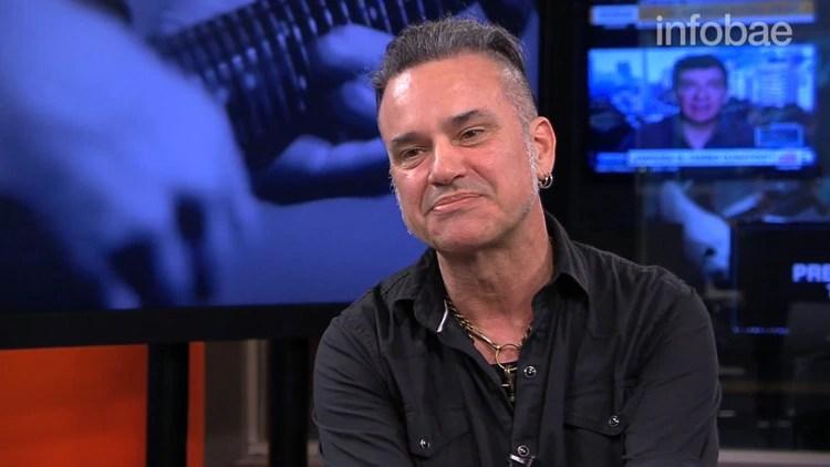 Richard Coleman, uno de los músicos y gran amigo que trabajó con Cerati en su última gira