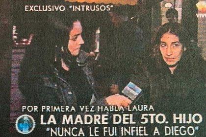 Quién es Laura Cibilla, la mujer que perdió un juicio de filiación contra  Diego Maradona y que podría ser la madre de otros dos herederos del astro -  Infobae