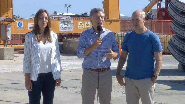 Macri y Vidal se mostrarán ajenos al paro en la inauguración de una obra en La Plata
