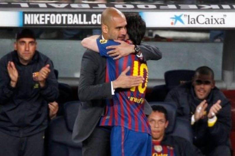 Guardiola es el entrenador que más respeta Leo (Foto: Reuters)
