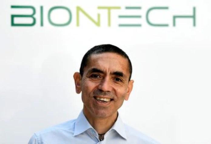 Ugur Sahin, CEO y cofundador de la firma alemana BioNTech, en una entrevista en Marburg, Alemania, 17 de septiembre de 2020 (REUTERS/Fabian Bimmer)
