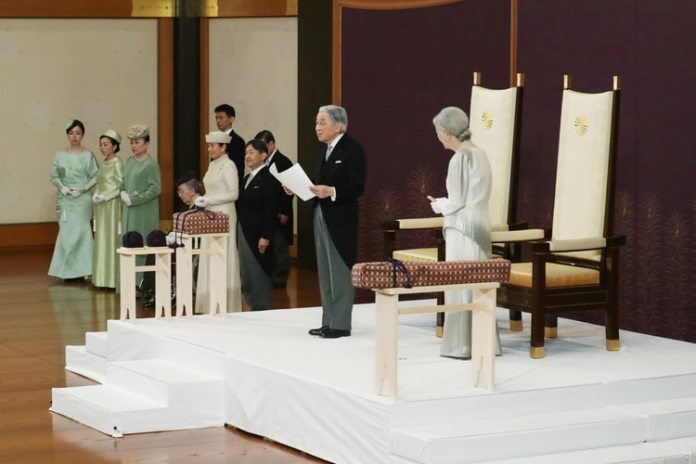 El emperador Akihito y su esposa Michiko (Japan Pool via REUTERS)