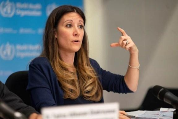 """Maria Van Kerkhove dijo que resultaba """"muy raro"""" que los enfermos asintomáticos de coronavirus contagien al resto (Reuters)"""