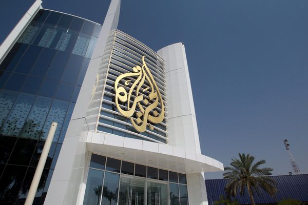 Los cuarteles generales de Al Jazeera en Doha, capital de Qatar (Reuters)
