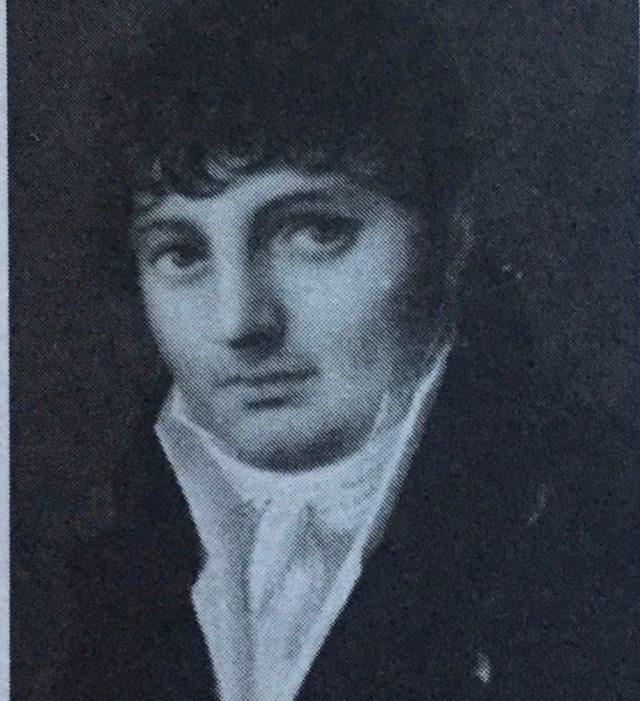 Retrato de un joven Manuel Belgrano.