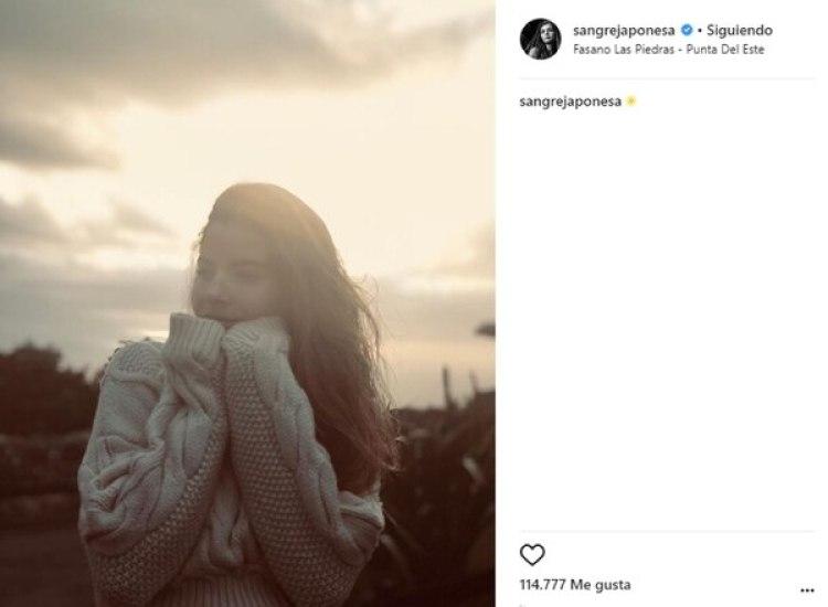 La actriz prohibió que sus seguidores comenten sobre sus fotos