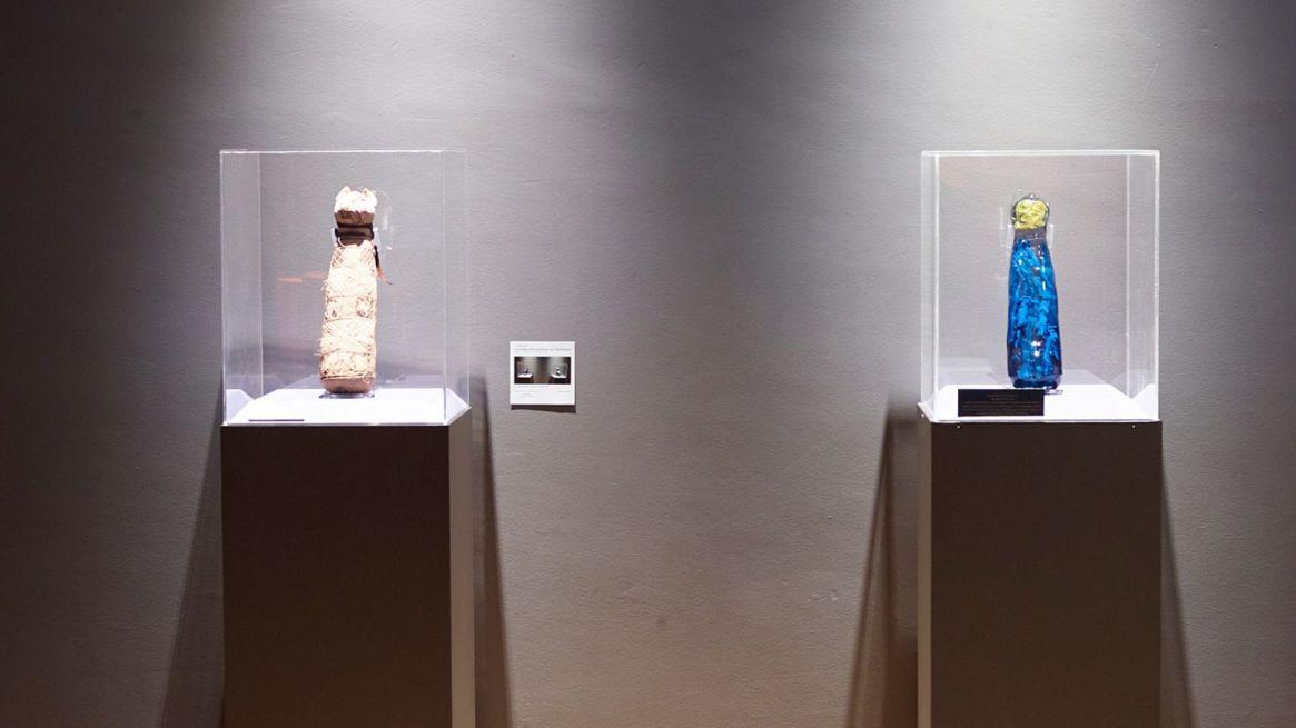 Los modelos en 3D se incorporaron a la colección del Museo de Bellas Artes de R ennes (Foto: Facebook Museo de Bellas Artes de Rennes)