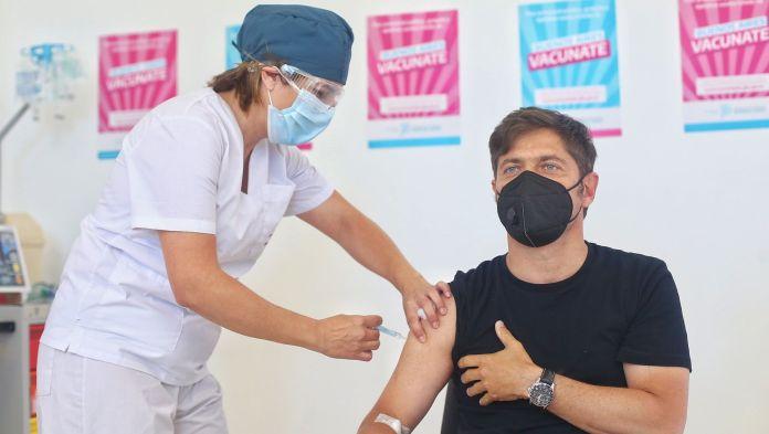 kicillof segunda vacuna