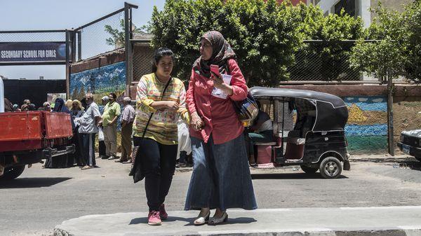 De esos 14 millones, tres cuartos sufren discapacidad mental (AFP PHOTO / KHALED DESOUKI)