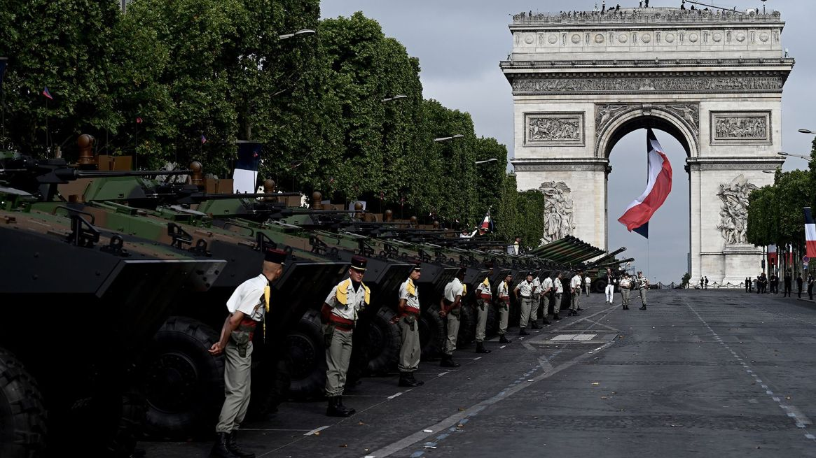 Soldados franceses miembros de la Operación Barkhane, activa en África desde 2014